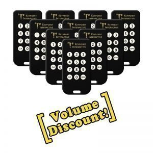 10-Pack of Keypoint Interactive 12 button Keypads