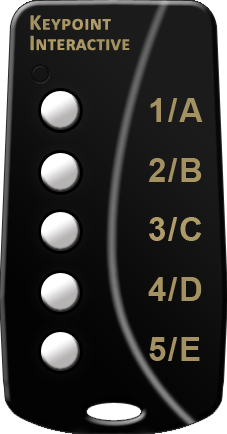 Keypad System Featuring 5-Button Keypads
